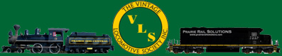 Vintage Locomotive Society Logo