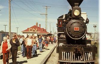 CN Vintage Train