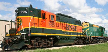 Diesel Locomotive 1685
